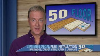50 Floor September Special TV Spot, 'Orlando: Free Installation' - Thumbnail 8