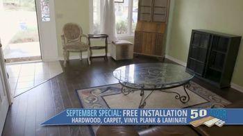 50 Floor September Special TV Spot, 'Orlando: Free Installation' - Thumbnail 9