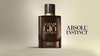 Giorgio Armani Acqua Di Giò Absolu Instinct TV Spot, 'Sensuality: The New Exclusive Addition' - Thumbnail 9