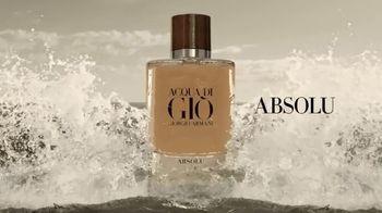 Giorgio Armani Acqua Di Giò Absolu Instinct TV Spot, 'Sensuality: The New Exclusive Addition' - Thumbnail 8