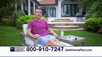 American Residential Warranty TV Spot, 'Relax' Featuring Anthony Sullivan - Thumbnail 2