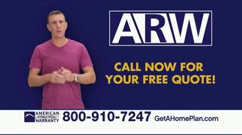 American Residential Warranty TV Spot, 'Relax' Featuring Anthony Sullivan - Thumbnail 5