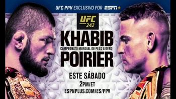 ESPN+ TV Spot, 'UFC 242: Khabib vs. Poirier' [Spanish] - 11 commercial airings