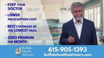 Buffalo Health Advisors TV Spot, 'Find the Right Insurance Plan' Featuring Charlie Chase
