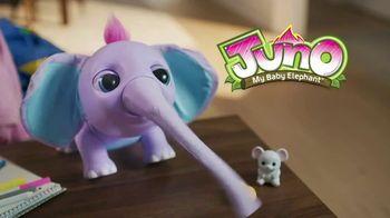 Juno My Baby Elephant TV Spot, 'She Loves Eating Her Peanut' - Thumbnail 1