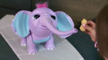 Juno My Baby Elephant TV Spot, 'She Loves Eating Her Peanut'