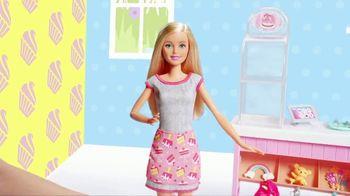 Barbie Cake Decorating Playset TV Spot, 'Let's Bake a Cake' - Thumbnail 1