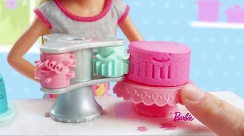 Barbie Cake Decorating Playset TV Spot, 'Let's Bake a Cake' - Thumbnail 4