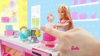 Barbie Cake Decorating Playset TV Spot, 'Let's Bake a Cake' - Thumbnail 5