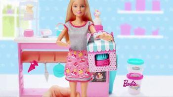 Barbie Cake Decorating Playset TV Spot, 'Let's Bake a Cake' - Thumbnail 6