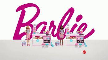 Barbie Cake Decorating Playset TV Spot, 'Let's Bake a Cake' - Thumbnail 7