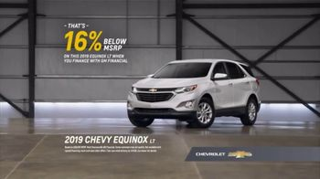 2019 Chevrolet Equinox TV Spot, 'Chevy Surprises Competitive Owners When It Comes to Reliability' [T2] - Thumbnail 8