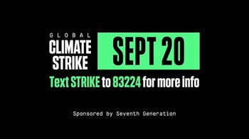 Seventh Generation TV Spot, '2019 Global Climate Strike' Song by Peter Gabriel