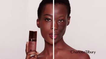 Charlotte Tilbury Airbrush Flawless Foundation TV Spot, 'Flawless Is a Feeling' Feat. Charlotte Tilbury, Joan Collins, Song by George Michael - Thumbnail 4