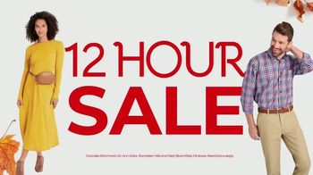 Stein Mart Fall 12 Hour Sale TV Spot, 'Save 50 Percent' - Thumbnail 1