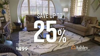 Ashley HomeStore Fall Sale TV Spot, 'Fresh New Look: Save up to 25 Percent' Song by Midnight Riot - Thumbnail 4
