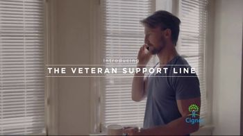 Cigna Veteran Support Line TV Spot, 'Here for You' - Thumbnail 4