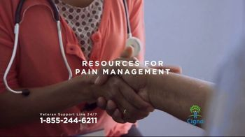 Cigna Veteran Support Line TV Spot, 'Here for You' - Thumbnail 5