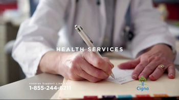 Cigna Veteran Support Line TV Spot, 'Here for You' - Thumbnail 7