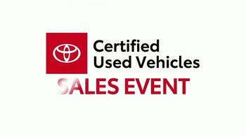 Toyota Certified Used Vehicles Sales Event TV Spot, 'Across America' [T2] - Thumbnail 3