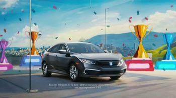 2019 Honda Civic TV Spot, 'Fun and Sporty' [T2]