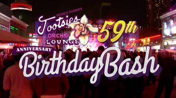 Tootsie's World Famous Orchid Lounge TV Spot, '59th Birthday Bash' - Thumbnail 2