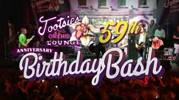 Tootsie's World Famous Orchid Lounge TV Spot, '59th Birthday Bash'