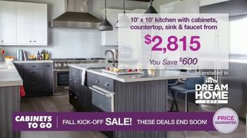 Cabinets To Go Fall Kick-Off Sale TV Spot, 'Save Even More' - Thumbnail 5