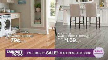 Cabinets To Go Fall Kick-Off Sale TV Spot, 'Save Even More' - Thumbnail 6
