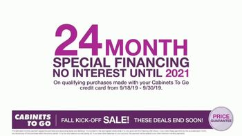 Cabinets To Go Fall Kick-Off Sale TV Spot, 'Save Even More' - Thumbnail 7