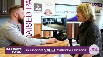 Cabinets To Go Fall Kick-Off Sale TV Spot, 'Save Even More' - Thumbnail 8