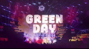 2019 iHeartRadio Music Festival TV Spot, 'Green Day'