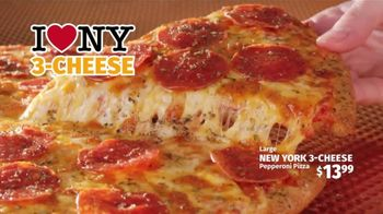 Peter Piper Pizza New York 3-Cheese Pizza TV Spot, 'Game Faces' - Thumbnail 8