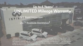 Infiniti of Scottsdale CPO Sales Event TV Spot, 'Luxury for All' - Thumbnail 4