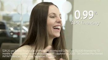 Infiniti of Scottsdale CPO Sales Event TV Spot, 'Luxury for All' - Thumbnail 8
