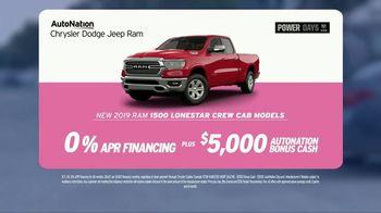 AutoNation Chrysler Dodge Jeep Ram TV Spot, '2019 RAM 1500' - Thumbnail 6