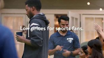 Walmart TV Spot, 'Sports Fans' - Thumbnail 7