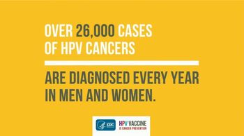 Centers for Disease Control TV Spot, 'HPV Vaccine: Ask About It for Your Child' - Thumbnail 5