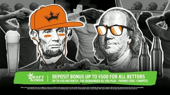 DraftKings Sportsbook TV Spot, 'All In: Deposit Bonus'