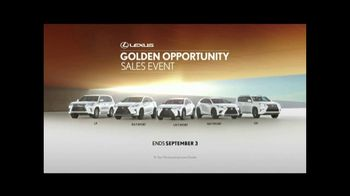 Lexus Golden Opportunity Sales Event TV Spot, 'Luxury and Capability' [T2] - Thumbnail 5