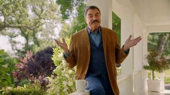 American Advisors Group Jumbo Reverse Mortgage TV Spot, \'With Time\' Featuring Tom Selleck