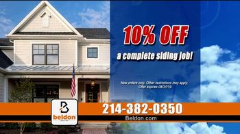 Beldon Siding Cooler Summer Savings Sale TV Spot, 'JamesHardie Siding' - Thumbnail 7