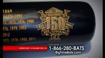 Big Time Bats Cincinnati Red Stockings 150th Anniversary Louisville Slugger TV Spot, 'First Game' - Thumbnail 2