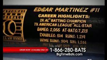 Big Time Bats Edgar Martinez Hall of Fame Art Bat TV Spot, 'Limited Collection' - Thumbnail 4