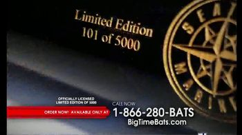 Big Time Bats Edgar Martinez Hall of Fame Art Bat TV Spot, 'Limited Collection' - Thumbnail 6