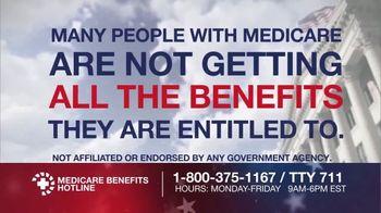 Medicare Benefits Helpline TV Spot, 'All Benefits'