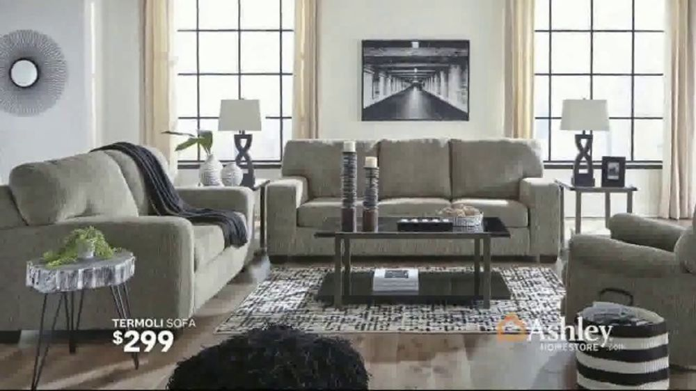 Ashley HomeStore Summer Sale TV Commercial, \'Termoli Sofa and Dining Sets\'  Song by Midnight Riot - Video
