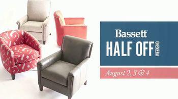 Bassett Half Off Sale TV Spot, 'Three Days Only' - Thumbnail 2