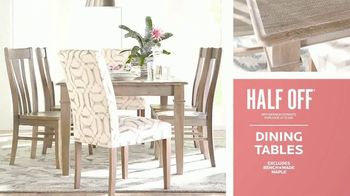 Bassett Half Off Sale TV Spot, 'Three Days Only' - Thumbnail 4