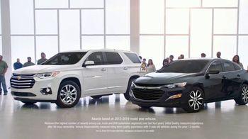 Chevrolet TV Spot, 'J.D. Power Quality Awards: Packed House' [T1] - Thumbnail 5